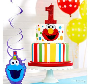 Elmo First Birthday Cake Idea Elmo First Birthday Sesame