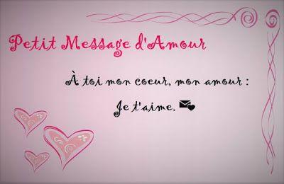 Petit Message Damour Pour Surprendre Votre Moitié Message