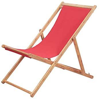 Deuba Chaise Longue A Bascule En Bois D Acacia Certifie Fsc Transat En Bois Ergonomique Bain De Soleil Jar En 2020 Chaise De Plage Pliante Chaise De Camping Bois Rouge