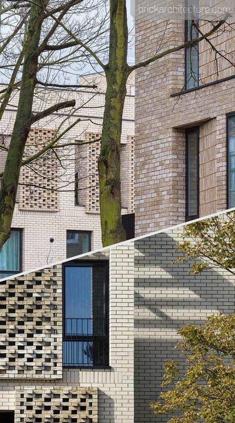 Vaudeville #Court #ist # eine # hohe # Dichte, #nachhaltig, #sozial #Hausbau #Projekt #in #Finsbury #Park #in #London #Borough #of #Islington. #FOTOGRAFIEN: # © #Tim #Crocker # #Bricks # #BrickArchitektur # #Architektur # #Brick