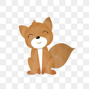 Cartoon Cute Smiling Little Fox Animal Design Cartoon Cute Animal Png Transparent Clipart Image And Psd File For Free Download Pet Fox Animal Illustration Kids Animal Clipart
