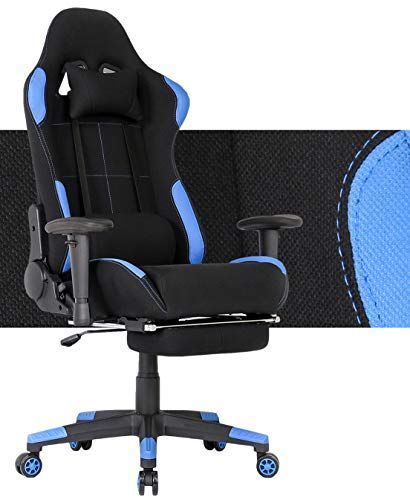Chaise Gaming Siege Gaming Siege Gamer Bureau Gaming Fauteuil Gaming Inclinable A 180 Coussin Pour Tete Et Lombaire Ac Chaise Gaming Bureau Gaming Siege Gaming