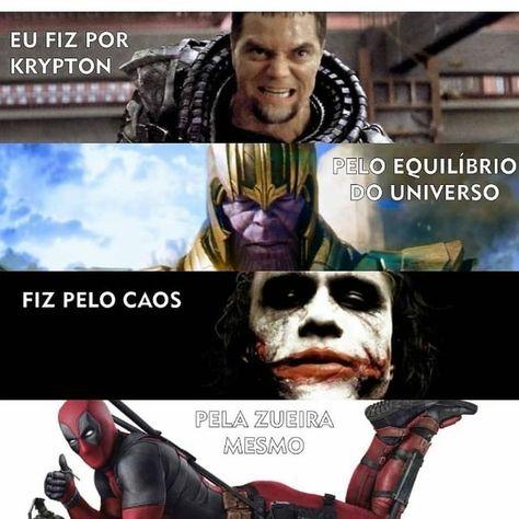 """Império da Marvel BR no Instagram: """"Impossível não gostar do Deadpool🤣 . . . . . . . #marvel #dc #homemaranha #games #homemdeferro #vingadores #avengers #dccomics #gamer…"""""""