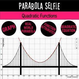 Real World Project Quadratic Functions Quadratics Quadratic