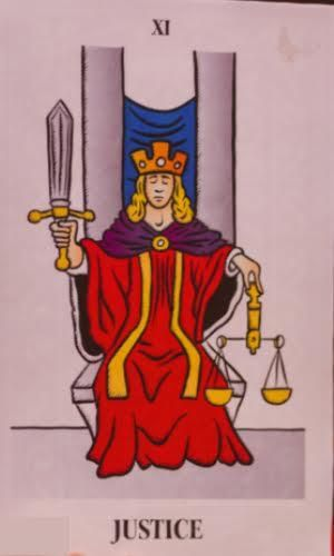 The Justice Tarot Card Meaning Upright Reversed In Love Justice Tarot Tarot Card Meanings 78 Tarot Cards