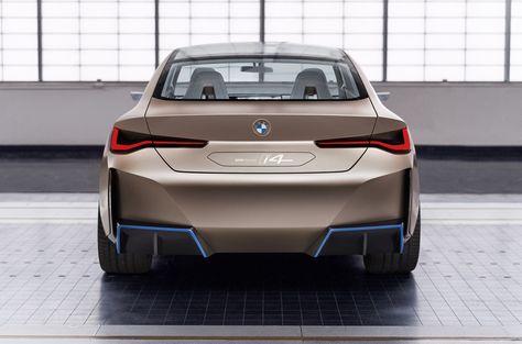 Bmw Concept I4 Previews 523 Horsepower Tesla Model 3 Rival In 2020 Bmw Concept Bmw Tesla Model