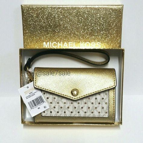 519dd048a220c 🔴🔶FINAL PRICE🔶🔴MK Wristlet Clutch Wallet 🔴⭕FINAL PRICE FIRM ...