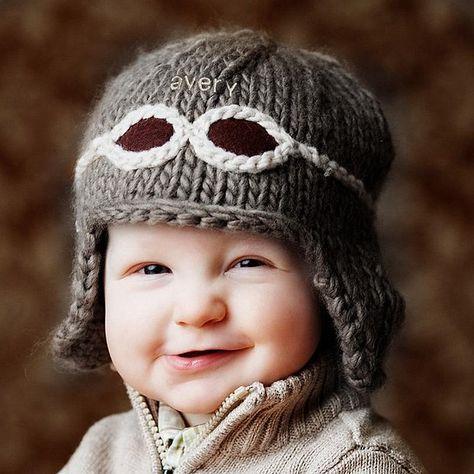 PRINTED INSTRUCTIONS-BABY GIRAFFE ROLL BRIM BEANIE ANIMAL HAT KNITTING PATTERN