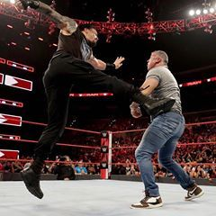 Image May Contain One Or More People Roman Reigns Shane Mcmahon Wwe Roman Reigns