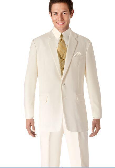 gold vest with paisleys - beige tux | Mens wearhouse ...