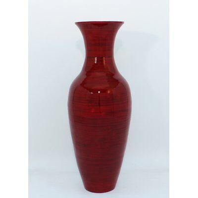 Kalb Bamboo Floor Vase Bamboo Flooring Recycled Glass Vases