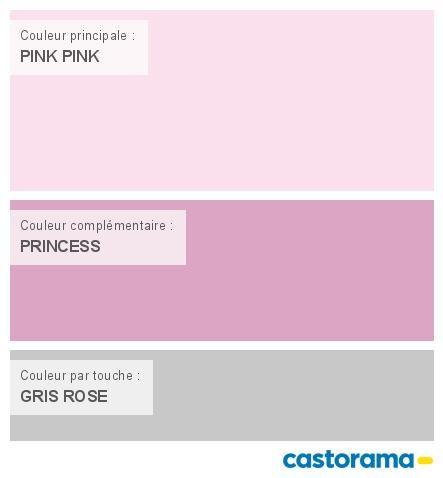 Castorama Nuancier Peinture - Mon Harmonie Peinture Pink Pink