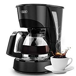 Coffee Maker Gevi 4 Cup Coffee Machine Plastic Silent Operation Drip Coffeemaker With Coffee Pot And Filter For Home Office Black 4 Cup Coffee Maker Coffee Machine Price Coffee Machine