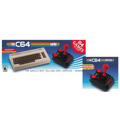 The C64 Mini Retro Gaming Console + Retro Games C64 Extra