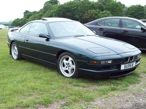 BMW 1994 850 CSi Green