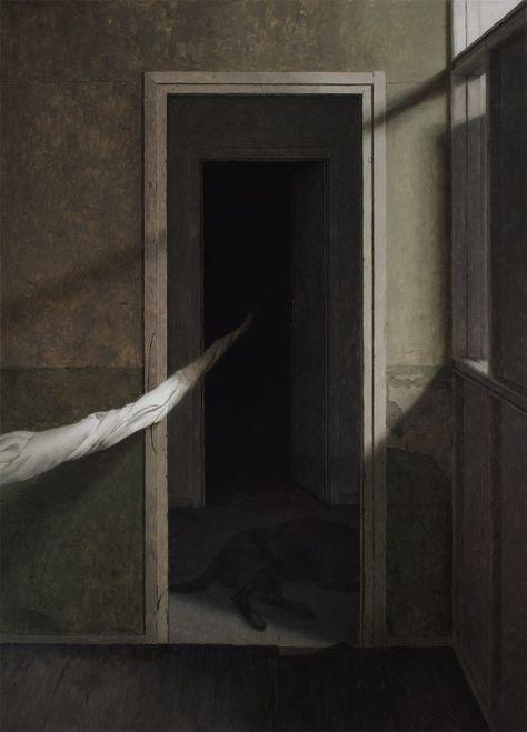 Dead Of Night By Dragan Bibin Surreal Art Art Creepy Art