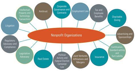 non profit organizational chart