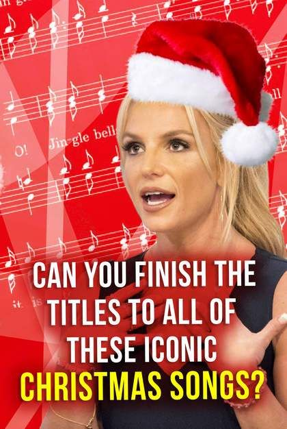 How Well Do You Know The Titles To The Most Popular Christmas Songs Including Jingle Bells Christmas Music Quiz Classic Christmas Songs Popular Christmas Songs