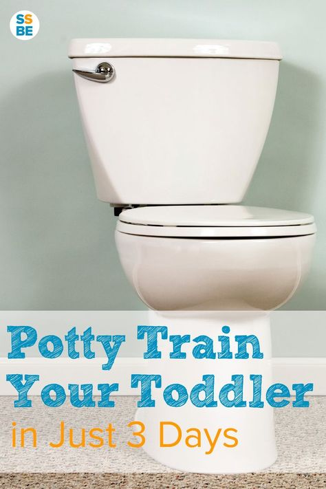 Tired of diapers, rewards that don't work and drawn-out potty training that take forever? Potty training can be a success with consistency and the right strategies. Here's how to potty train a toddler in 3 days.