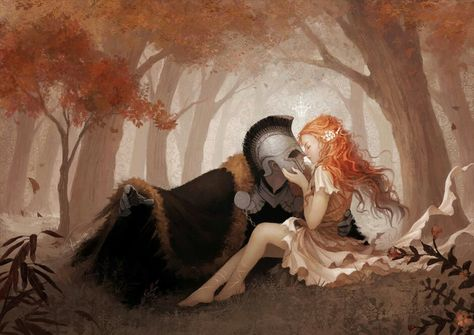 The true story of Hades and Persephone:Their meeting - We all know about Hades abducting Persephone and forcing her to...