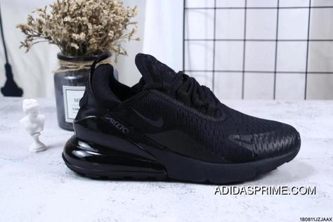 100ef66a07ea Nike Jacquard Air Max 270 Flyknit Half-palm Cushion Black Best ...
