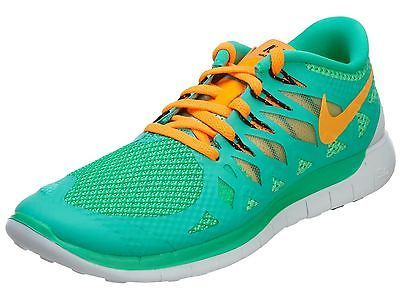 Nike Free 5.0 Womens 642199 302 Menta Green Orange Running