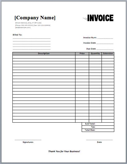 Commercial Invoice Template Templates Pinterest Template - example of commercial invoice