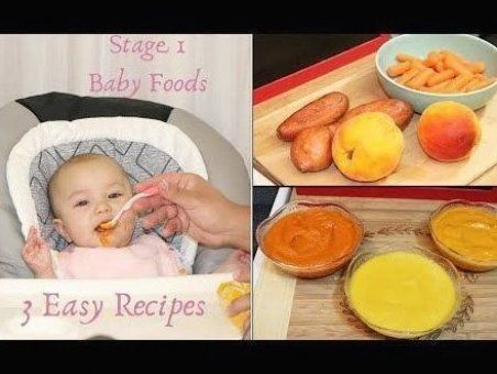 Stage 1 Baby Food 3 Easy Baby Pur E Recipes Babyfoodrecipesstage1 Stage 1 Baby Food 3 Easy Baby Pur E Recipes Babyfo In 2020 Baby Food Recipes E Recipe Recipes