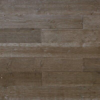 Williston Forge Rasch 5 X 46 5 Reclaimed Peel And Stick Engineered Wood Wall Paneling In Gray Wood Panel Walls Wood Wall Stick On Wood Wall