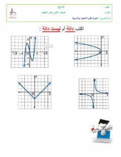 الدوال كثيرة الحدود والنسبية Language Arabic Grade Level 12 School Subject الرياضيات Main Content اخت Arabic Alphabet For Kids Worksheets Alphabet For Kids
