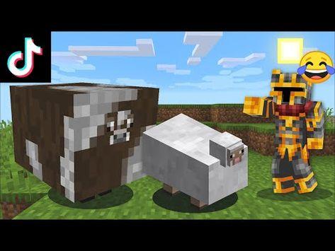 Minecraft Testing Brand New Tik Tok Ideas To Go Viral Never Do This In Minecraft Minecraft Youtube Minecraft Minecraft Mods Desktop Organization