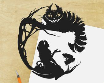 Cheshire Cat Alice Disney Decal Sticker Best Gift Decal ALL DECALS BUY 2 GET 1