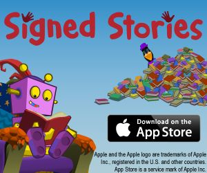 Signed Stories - Stories narrated and signed with pictures and BSL