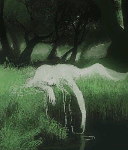 Alphonse Mucha, Aesthetic Art, Aesthetic Pictures, Art Inspo, Aya Takano, Posca Art, Pinturas Disney, Forest Fairy, Pretty Art