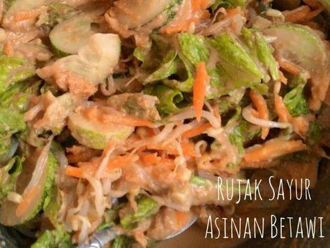 Resep Asinan Betawi Rujak Sayur Oleh Yecepe Resep Memasak Resep Makanan Masakan