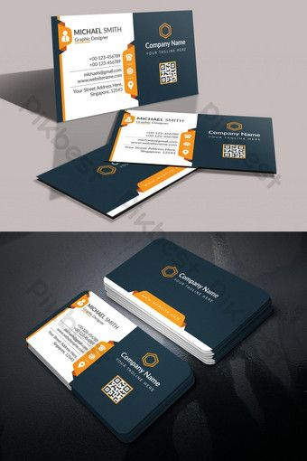 Corporate 3d Business Card Psd Free Download Pikbest 3d Business Card Artist Business Cards Design Business Card Template Design
