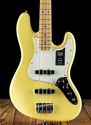 Fender Player Jazz Bass Buttercream Free Shipping In 2020 Bass Guitar Guitar Esp Guitars