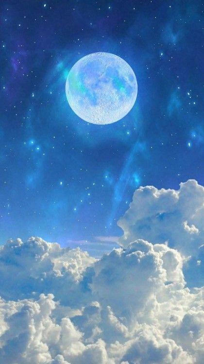 Beautiful light blue wallpaper for