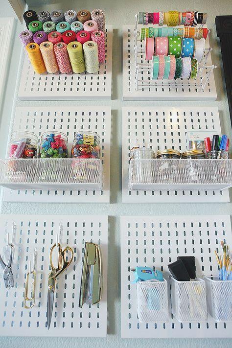 Organize Craft Supplies