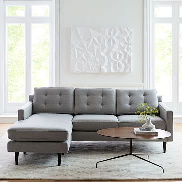Drake Reversible Sectional Modern Sectional Timeless Sofa Furniture