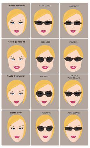 Oculos De Sol E Tipos De Rosto Oculos Para Rosto Redondo Oculos