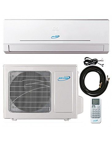Air Con Ductless Mini Split In Thebestminisplit Com Looking For A 9000 Btu Air Con Ductless Portable Air Conditioner Heat Pump Air Conditioner Air Conditioner