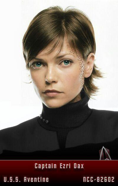 Capt  Ezri Dax | Star Trek | Star trek characters, Star trek