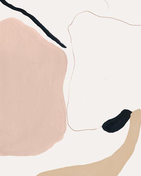 "Bernadette M. Pascua on Instagram: ""Shape study #painting #bernadettemarie〰"""