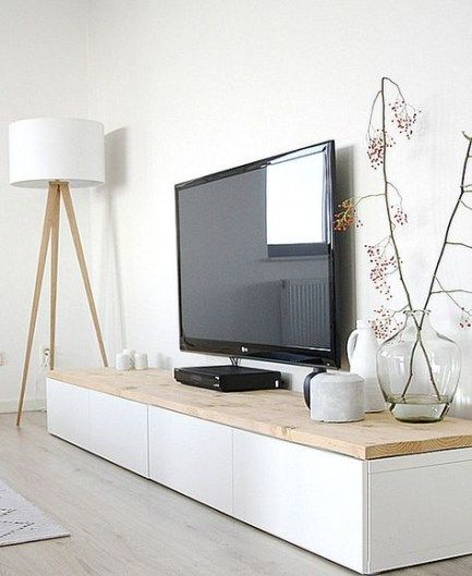 New Living Room With Tv Console Media Cabinet Ideas Home Living Room Living Room Scandinavian Minimalist Home