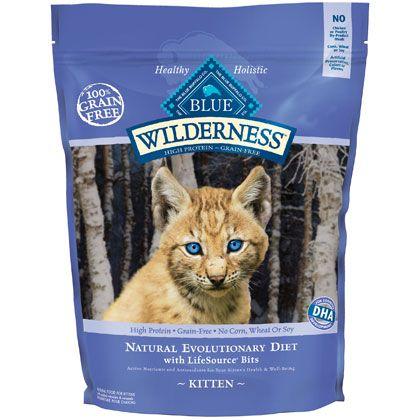Blue Buffalo Wilderness Kitten Food In 2020 Kitten Food Blue