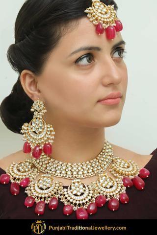 Best Punjabi Bridal Jewellery Online In