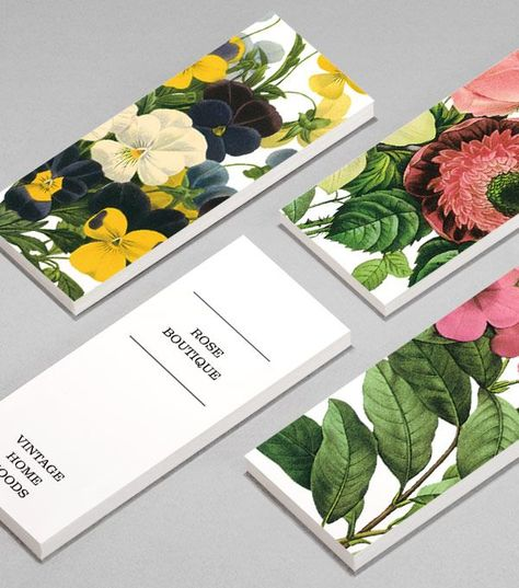 MiniCard designs - Blooming Botanicals