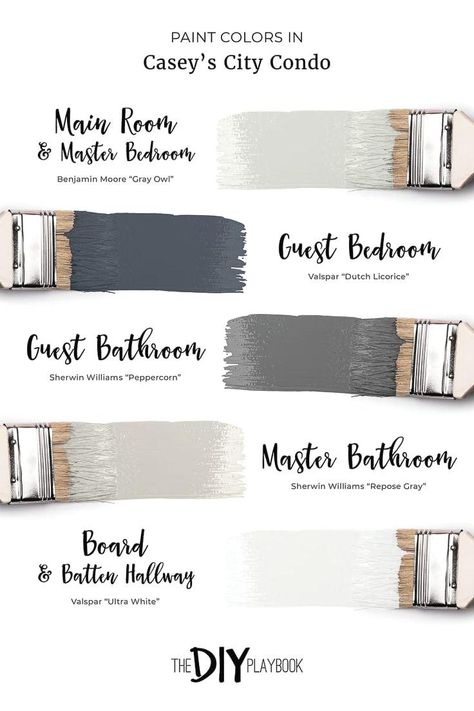 Favorite Neutral Paint Colors in Our Homes #masterbedroompaintcolors A neutral p...