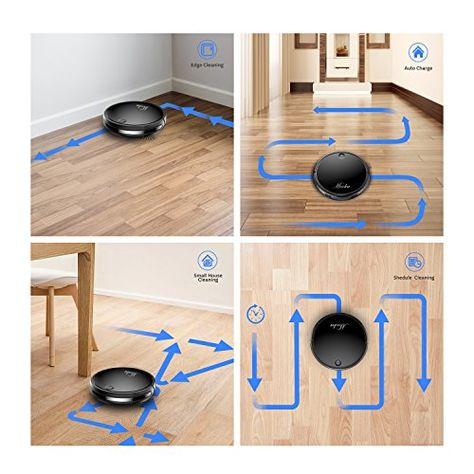 Robotic Vacuum Cleaner MOOKA, Tangle free Suction for Pet